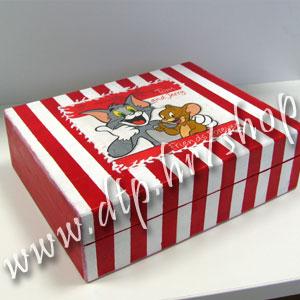 Ukrasna drvena kutija velika DK-4-5