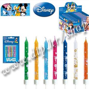 DK346083 Rođendanske svjećice Mickey 10/1 6,5cm