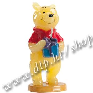 DK346005 Rođendanska svjećica Winnie the Pooh 3D sa poklonom