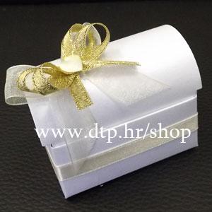 0-0pz10913 Škrinjica s tiskom (pozivnica ili poklon)