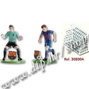 DK302004 Ukras za tortu nogometaši Barcelona