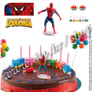 DK350247 Set za dekoriranje torti Spiderman