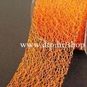 240712 Traka narančasta paučina 7cm/20m