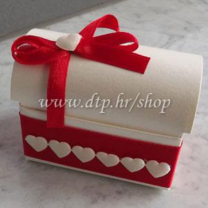 0-0pz03514 Škrinjica s tiskom (pozivnica ili poklon)