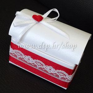 0-0pz02914 Škrinjica s tiskom (pozivnica ili poklon)