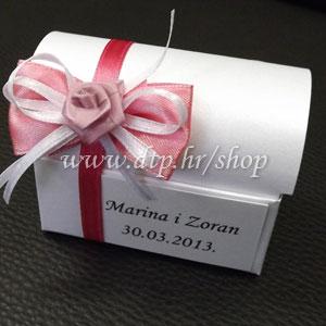 0-0pz03814 Škrinjica s tiskom (pozivnica ili poklon)