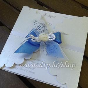 000 Preklopna pozivnica za vjenčanje pz05714 s tiskom
