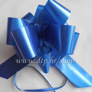 270014 mašna (na potez) 5cm royal plava