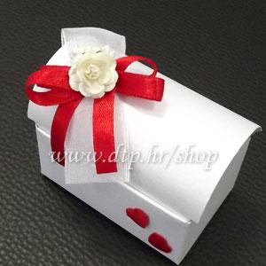 Srce08-3 Škrinjica s tiskom (pozivnica ili poklon)