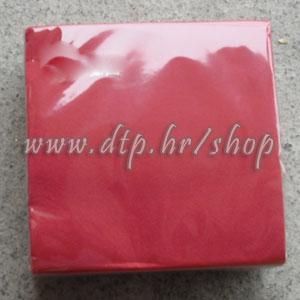 Salvete crveno 25x25 soft (40 kom)