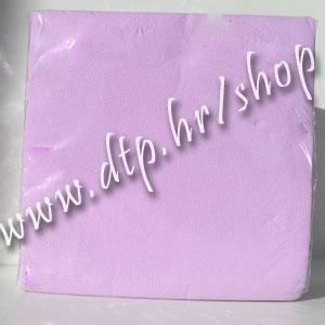 Salvete lila 25x25 soft (40 kom)