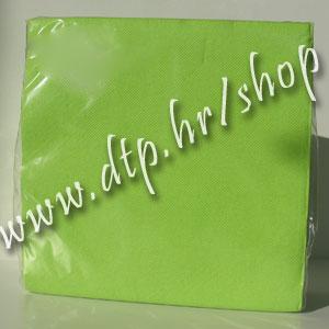 Salvete svj. zelene 25x25 soft (40 kom)