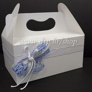 Ukrašena kutija za kolače UK06615
